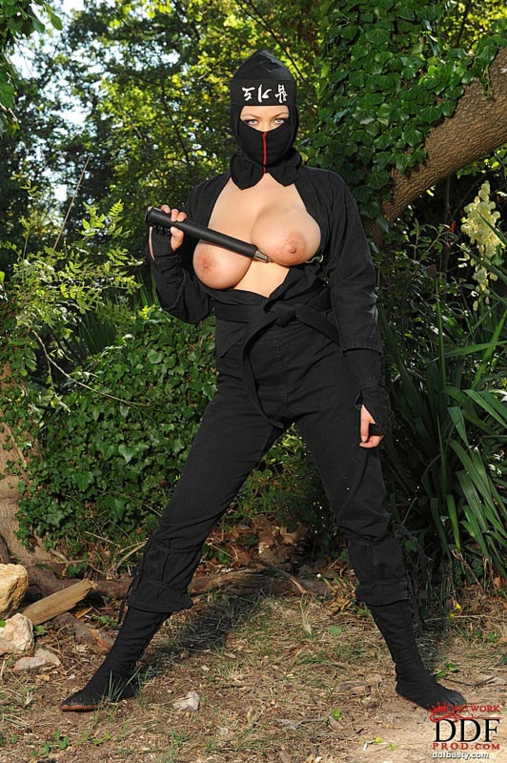 Ninja woman big boobs pics softcore films
