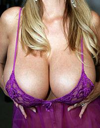 Kelly In Purple Lingerie